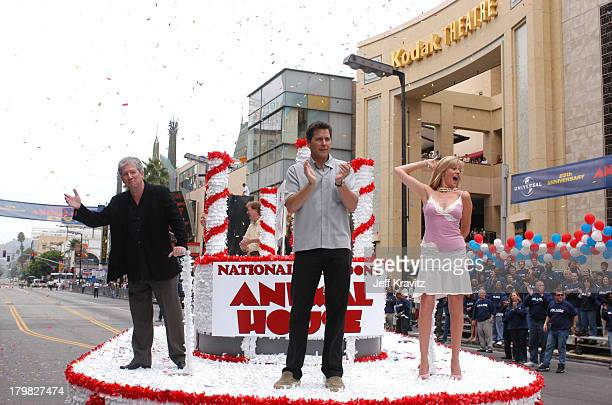 Peter Riegert Tim Matheson and Martha Smith during Animal House 25th Anniversary Ultimate Homecoming Parade DVD Release Extravaganza at Hollywood...