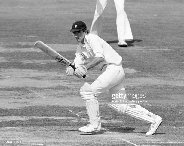 Peter Roebuck of Somerset batting during the Gillette Cup Final between Northamptonshire and Somerset at Lord's Cricket Ground, London, 8th September...