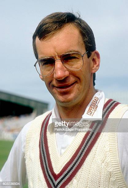 Peter Roebuck of Somerset circa April 1989