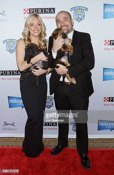 Peter Rosenberg and Alexa Rosenberg attend the 2015 North Shore Animal League America Gala at The Pierre Hotel on November 20 2015 in New York City