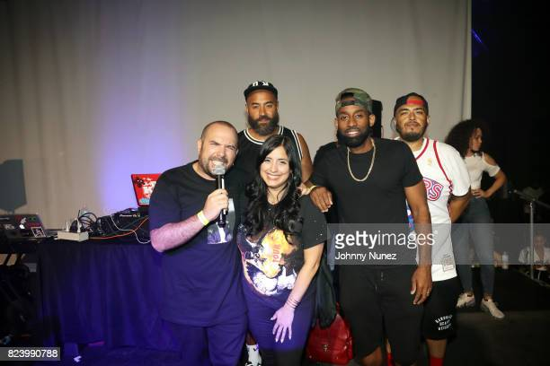 Peter Rosenberg Ebro Darden Laura Stylez DJ Kast One DJ Juanyto and DJ Megan Ryte attend Peter Palooza VI at Knockdown Space on July 27 2017 in New...