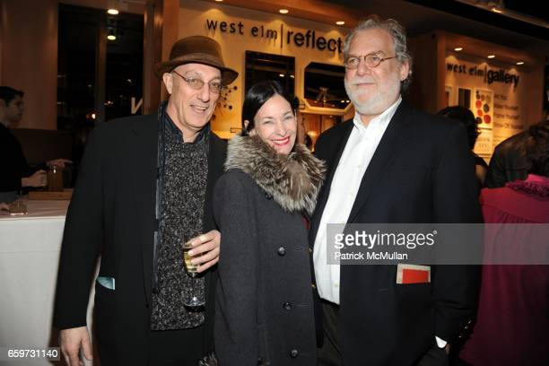Peter Rosenthal Amy Rosi and Andrew Hoffman attend WEST ELM and DAVID STARK Celebrate The Opening of WEST ELM's Newest Store at West Elm on March 3...