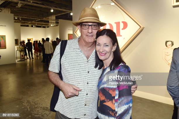 Peter Rosenthal and Amy Rosi attend Art Basel Miami Beach Private Day at Miami Beach Convention Center on December 6 2017 in Miami Beach Florida