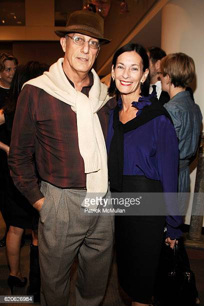 Peter Rosenthal and Amy Rosi attend ELLE DECOR CHRISTIE's Launch of THE CELERIE KEMBLE COLLECTION for SCHUMACHER with LEXUS at Christie's on...