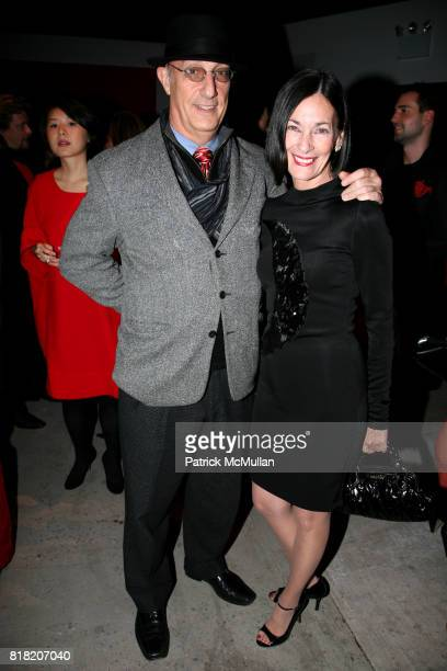 Peter Rosenthal and Amy Rosi attend PERFORMA presents The Red Party 2010 Benefit Gala at 508 W 37th St on November 6 2010 in New York