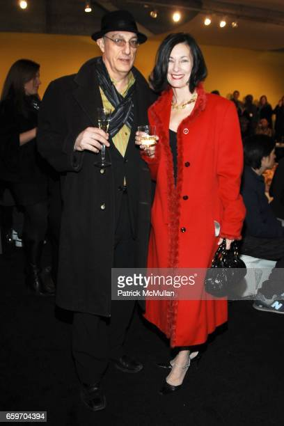 Peter Rosenthal and Amy Rosi attend VIP/Press Preview of The 2009 Armory Show at Piers 92 94 on March 4 2009 in New York City