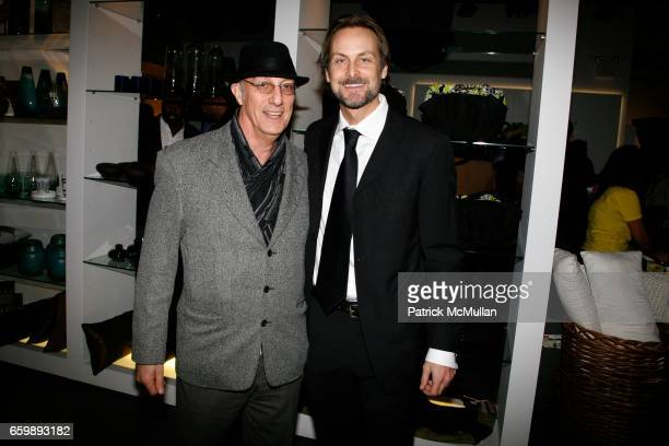 Peter Rosenthal and Andrew Brunger attend 7th Annual BoCONCEPT/KOLDESIGN Holiday Party at Bo Concept Madison Ave on December 15 2009 in New York
