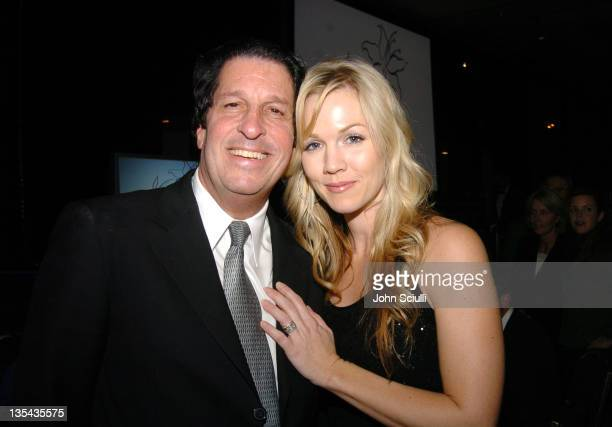 Peter Roth and Jennie Garth during The Lili Claire Foundation's 7th Annual Benefit Gala Hosted by Matthew Perry - Show and Audience at Century Plaza...