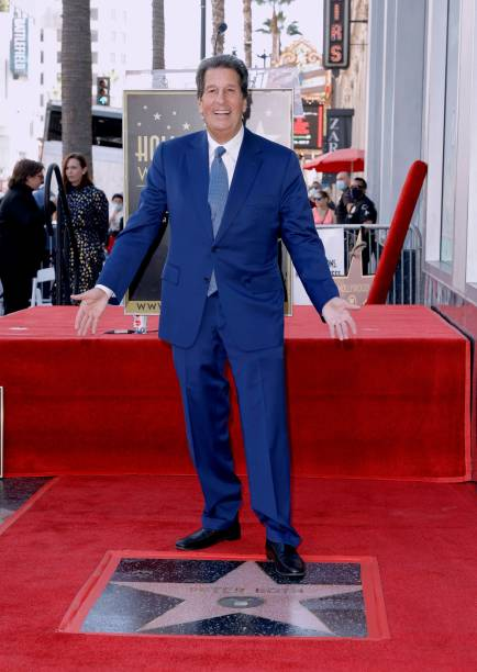 CA: Television Executive Peter Roth Honored With Star On The Hollywood Walk Of Fame