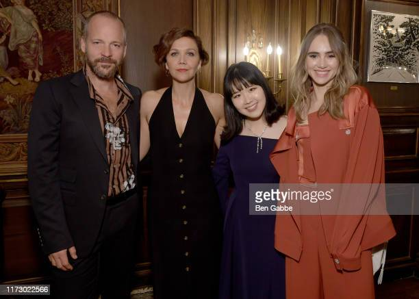 Peter Saarsgard Maggie Gyllenhaal ADEAM Founder and Creative Director Hanako Maeda and Suki Waterhouse attend the Adeam Spring/Summer 2020 Dinner on...