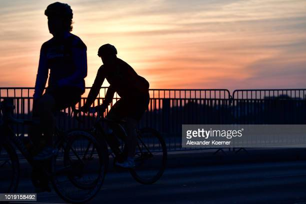 Peter Sagan is pictured before the EuroEyes CYCLASSICS 2018 on August 19 2018 in Hamburg Germany