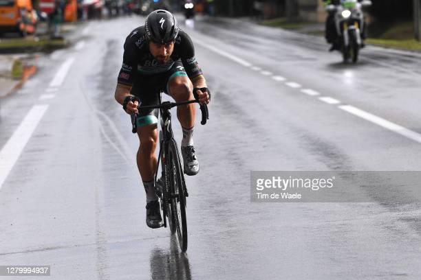 Peter Sagan of Slovakia and Team Bora - Hansgrohe / Breakaway / Rain / during the 103rd Giro d'Italia 2020, Stage 10 a 177km stage from Lanciano to...