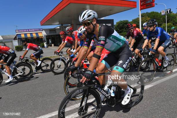 Peter Sagan of Slovakia and Team Bora Hansgrohe / during the 101st Milano Torino 2020 a 198km race from Mesero to Stupinigi Turin / #MilanoTorino /...