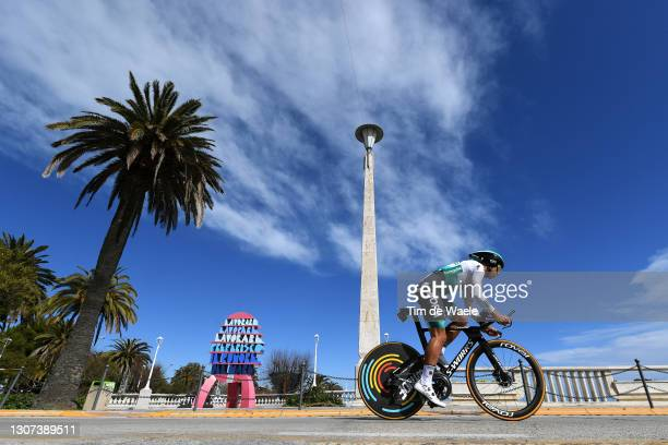 Peter Sagan of Slovakia and Team Bora - Hansgrohe during the 56th Tirreno-Adriatico 2021, Stage 7 a 10,1km Individual Time Trial stage from San...