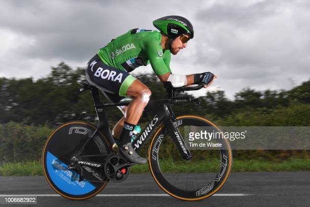 Peter Sagan of Slovakia and Team Bora Hansgrohe Green Sprint Jersey / during the 105th Tour de France 2018, Stage 20 a 31km Individual Time Trial...