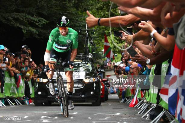 Peter Sagan of Slovakia and Team Bora Hansgrohe Green Sprint Jersey / during the 105th Tour de France 2018 Stage 20 a 31km Individual Time Trial...