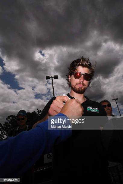 Peter Sagan of Slovakia and Team BoraHansgrohe before stage four of the 13th Amgen Tour of California 2018 San Jose / Morgan Hill a 347 km Individual...