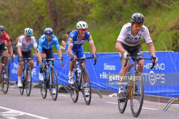 Peter Sagan of Slovakia and Team BoraHansgrohe / during the 53rd Amstel Gold Race 2018 a 263km race from Maastricht to Berg en Terblijt on April 15...
