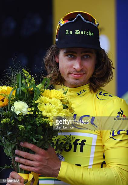 Peter Sagan of Slovakia and the Tinkoff team retained his leader's yellow jersey after stage three of the 2016 Tour de France, a 223.5km road stage...
