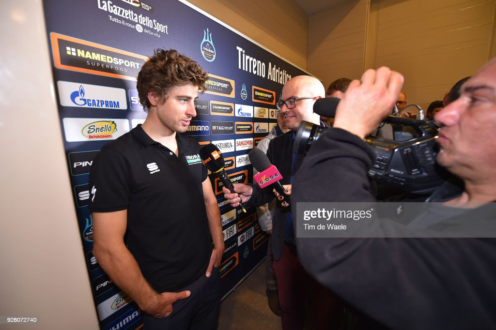 Cycling: 53rd Tirreno-Adriatico 2017 / Press Conference : ニュース写真