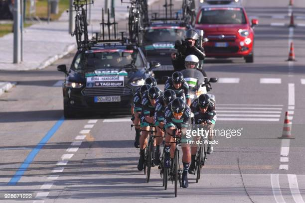 Peter Sagan of Slovakia / Team Bora Hansgrohe of Germany / during the 53rd TirrenoAdriatico 2018 / Stage 1 Team Time Trial of 215km on March 7 2018...