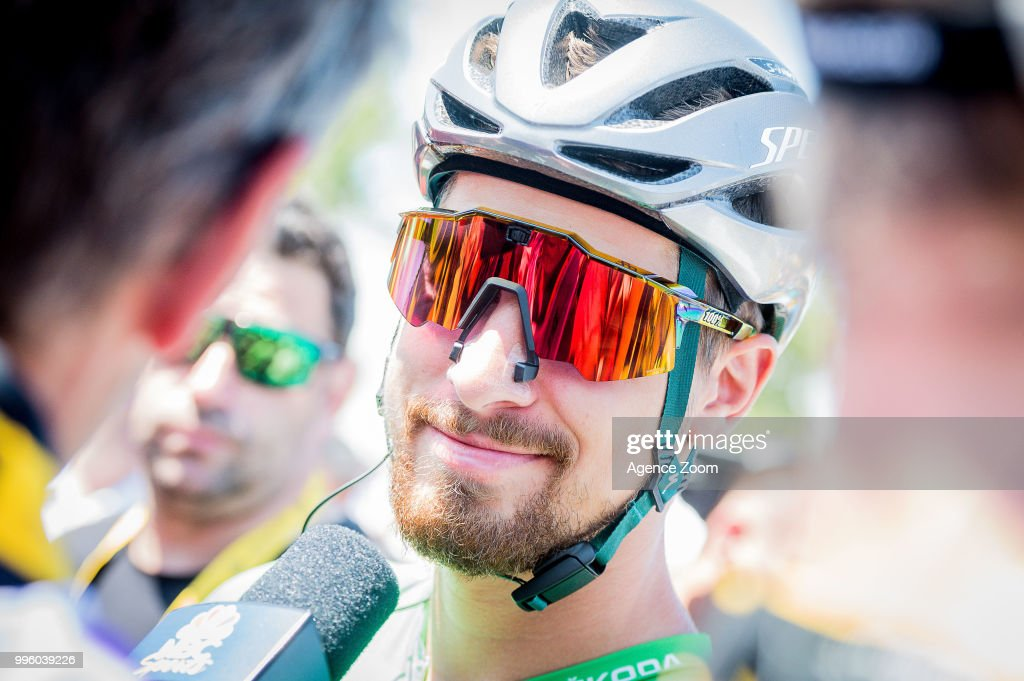 Peter Sagan of team BORA during the stage 04 of the Tour de France 2018 on July 10, 2018 in Sarzeau, France.