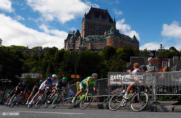 Peter Sagan of Team Tinkoff cycles during the Grand Prix Cycliste de Quebec on September 9 2016 in Quebec City Quebec Canada