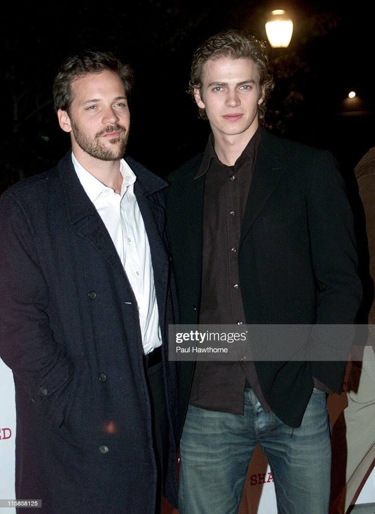Peter Sarsgaard and Hayden Christensen during 'Shattered Glass' - New York Screening at Clearview Chelsea Theatre in New York City, New York, United States.