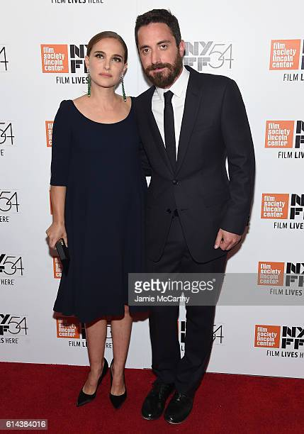 Peter Sarsgaard and Natalie Portman attends the 54th New York Film Festival Jackie screening intro and QA at Alice Tully Hall Lincoln Center on...