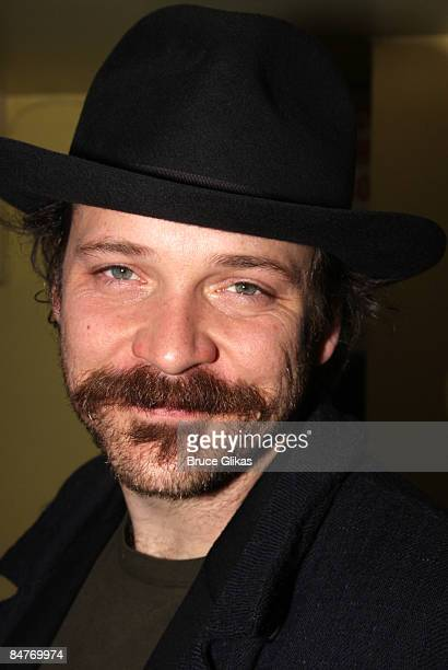 Peter Sarsgaard attends the after party for the offbroadway opening night of Uncle Vanya at Pangea on February 12 2009 in New York City