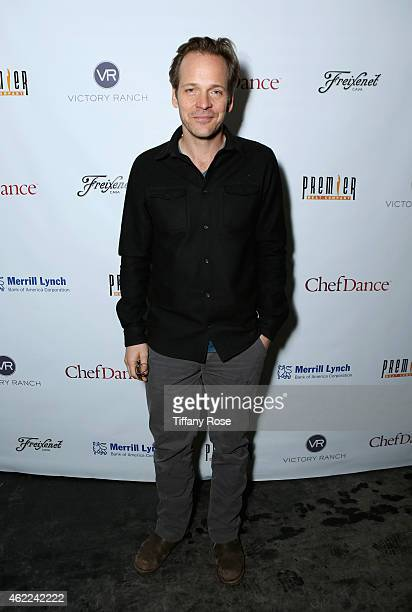 Peter Sarsgaard attends the ChefDance 2015 presented by Victory Ranch and Sponsored by Merrill Lynch, Freixenet and Anchor Distilling on January 25,...
