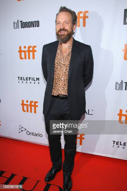 Peter Sarsgaard attends the The Lie premiere during 2018 Toronto International Film Festival at Roy Thomson Hall on September 13 2018 in Toronto...