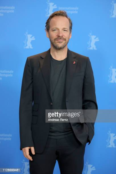 Peter Sarsgaard poses at the Mr Jones photocall during the 69th Berlinale International Film Festival Berlin at Grand Hyatt Hotel on February 10 2019...