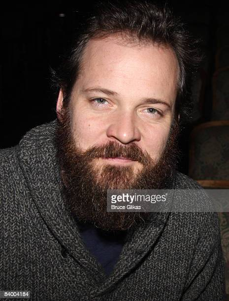 Peter Sarsgaard star of The Seagull poses at the 2008 Gypsy of the Year which raised $3148 for Broadway Cares/Equity Fights AIDS at the New Amsterdam...
