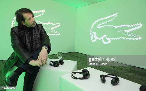 Peter Saville attends the Peter Saville for Lacoste launch at Shoreditch House on November 28 2013 in London England