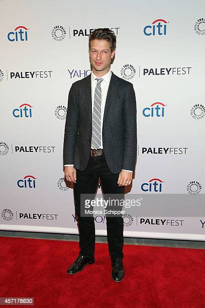 Peter Scanavino attends 2nd Annual Paleyfest New York Presents Law Order SVU at Paley Center For Media on October 13 2014 in New York New York