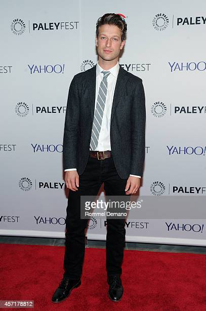 Peter Scanavino attends the 2nd Annual Paleyfest New York Presents Law Order SVU at Paley Center For Media on October 13 2014 in New York New York