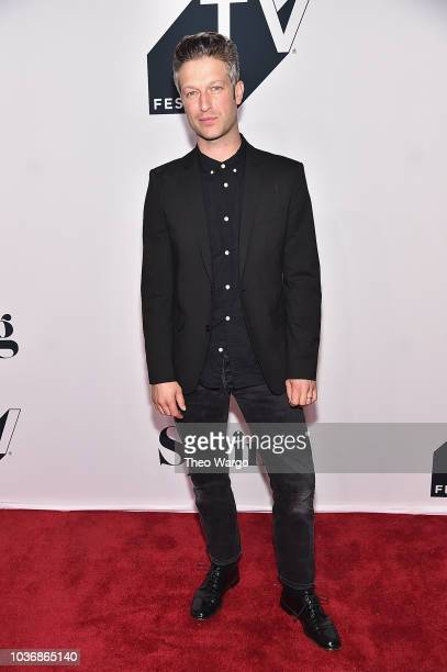 Peter Scanavino attends the Law Order SVU 20th Anniversary Celebration the 2018 Tribeca TV Festival at Spring Studios on September 20 2018 in New...