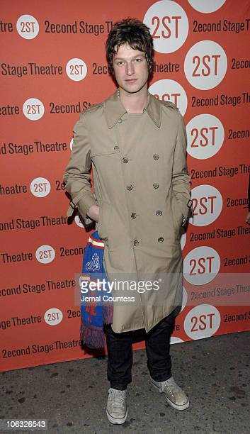 Peter Scanavino during Second Stage Theatre's Production of Some Men Opening Night Arrivals at Second Stage Theatre in New York New York United States