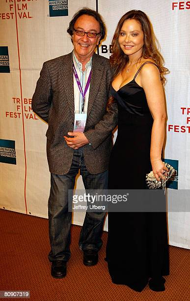 Peter Scarlet and Ornella Muti attend the Premiere of 'Toby Dammit' at the 7th Annual Tribeca Film Festival on April 28 2008 in New York City