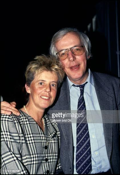 Peter Schellenberg mit Ehefrau, 1990