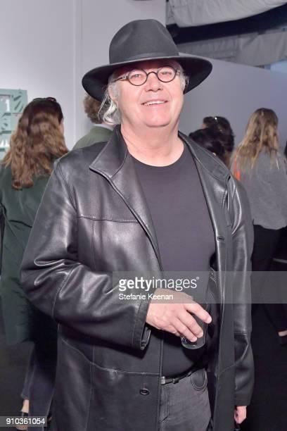Peter Schelton at OPENING NIGHT   ART LOS ANGELES CONTEMPORARY 9TH EDITION at Barkar Hangar on January 25 2018 in Santa Monica California