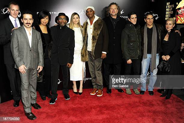 Peter Schessel Max Casella Christine Birch Spike Lee Elizabeth Olsen Samuel L Jackson Mark Protosevich James Ransone Michael Imperioli and Victoria...