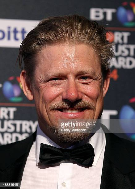 Peter Schmeichel attends the BT Sport Industry Awards at Battersea Evolution on May 8 2014 in London England