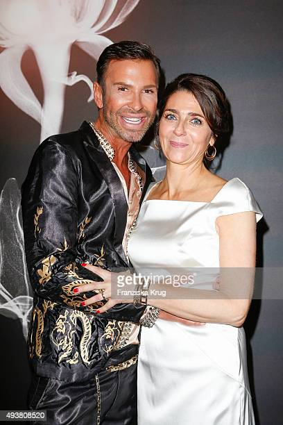 Peter Schmidinger and Christiane Lingner attend the BABOR Opening Cocktail on October 22 2015 in Berlin Germany