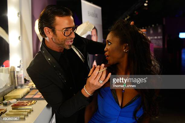 Peter Schmidinger and Motsi Mabuse attend Babor at the Duftstars Awards 2014 at arena Berlin on May 15 2014 in Berlin Germany