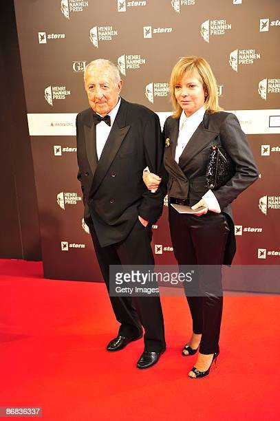 Peter SchollLatour and his wife Eva attend the HenriNannenAward at the Schauspielhaus on May 8 2009 in Hamburg Germany