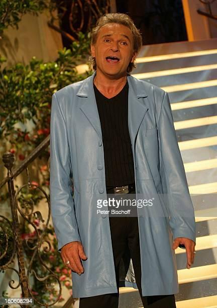 Peter Sebastian Vorentscheidung zum Grand Prix der Volksmusik 2002 Hof Freiheitshalle Bühne Auftritt Sänger singen