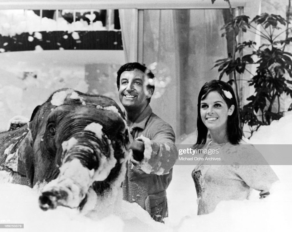 Peter Sellers And Claudine Longet In 'The Party' : News Photo