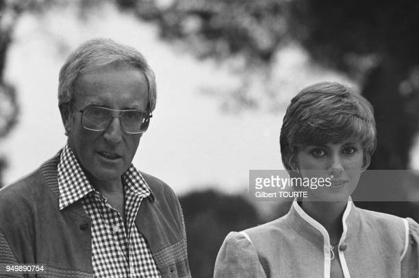 Peter Sellers and his wife Lynne